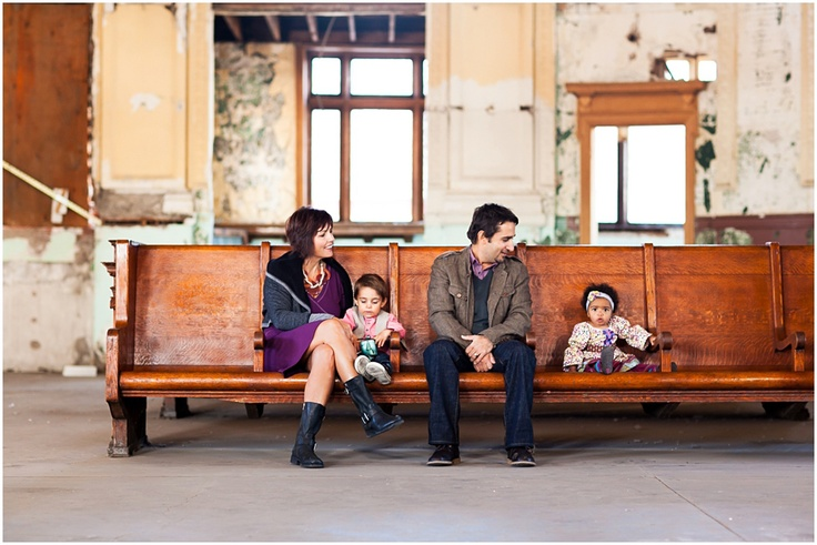 Family pictures at the old train depot | Cat Mayer Studio (please?? where are these sweet depots like this around here???)
