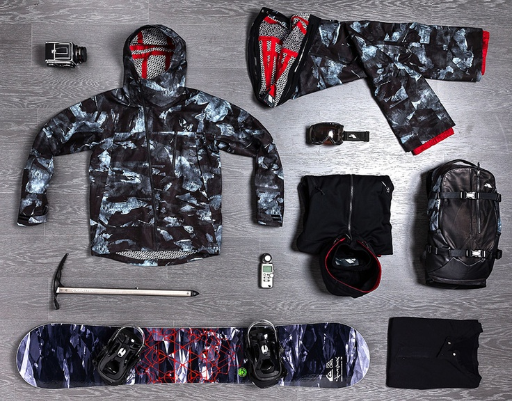 Isaora Quiksilver Snowboard Clothing Collaboration 2013