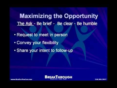 Make The Most Of That Informational Interview Career Video YouTube