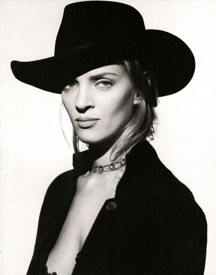 Uma Thurman by Albert Watson, 1994