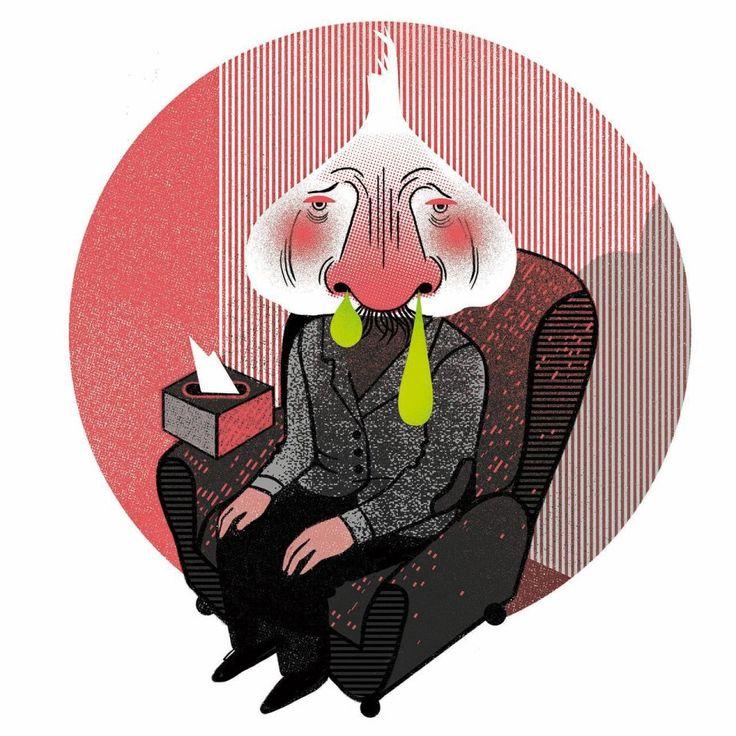 Nalewka i rosół, czyli domowe sposoby na leczenie przeziębienia