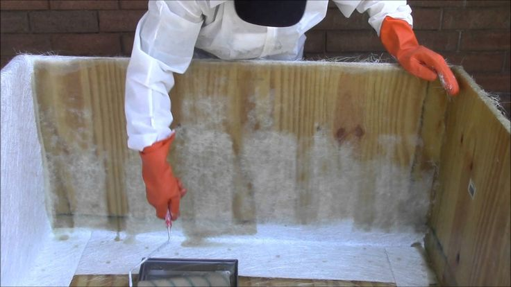 How to Waterproof Anything With Fiberglass   Diy hot tub ...