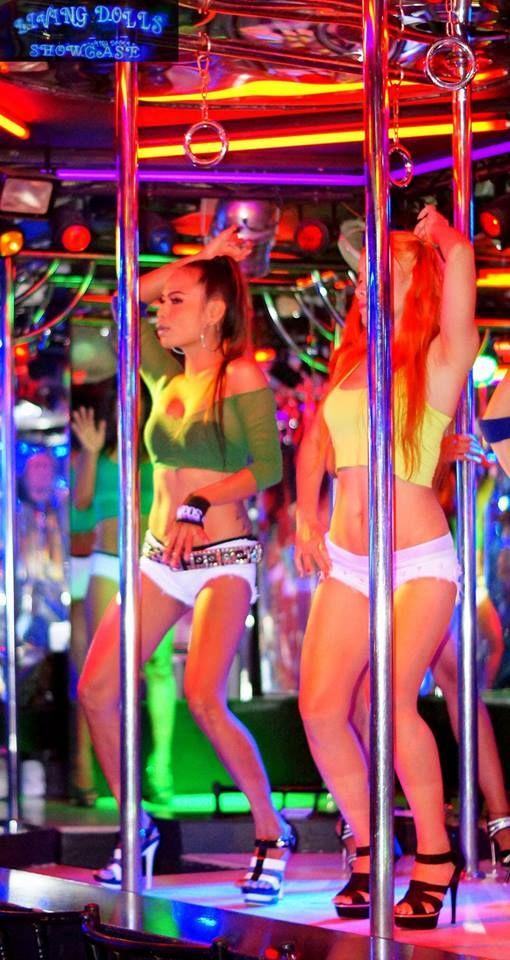 Dancing High .. #pattayabar #sexydances