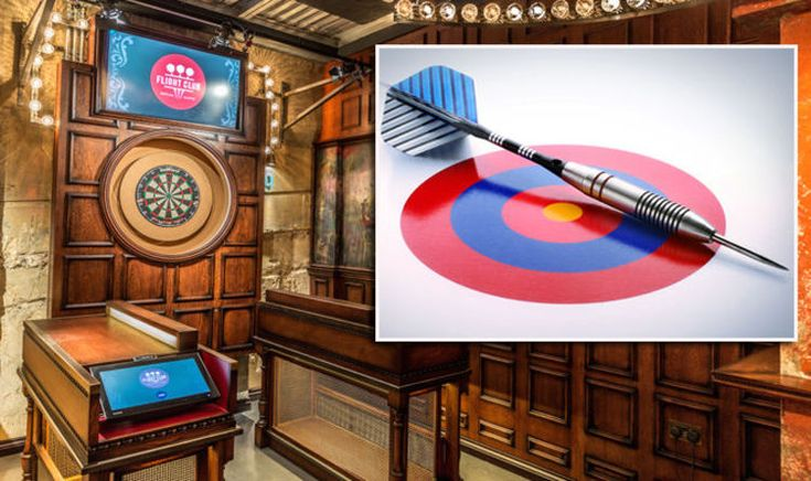Flight Club making darts TRENDY again! Youngsters enjoying an oche in London