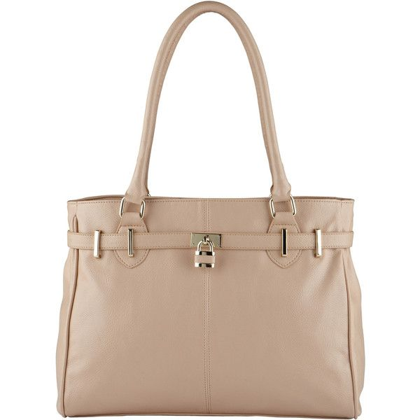 ALDO Casement (€12) ❤ liked on Polyvore featuring bags, handbags, tote bags, bone, aldo handbags, beige purse, zippered tote, aldo purses and aldo