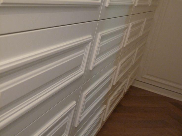 klasszikus mdf beépített szekrény