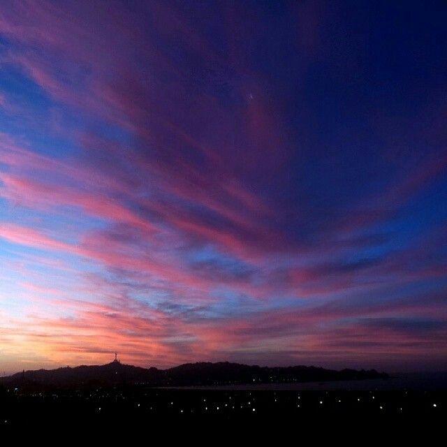 Coquimbo's sunset