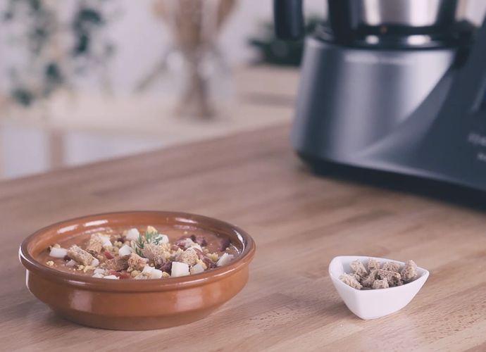 Salmorejo cordobés tradicional para #Mycook http://www.mycook.es/cocina/receta/salmorejo-cordobes-tradicional