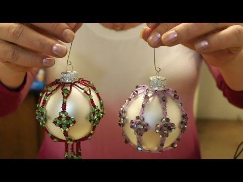 4 Point Star Beaded Ornament Cover - YouTube