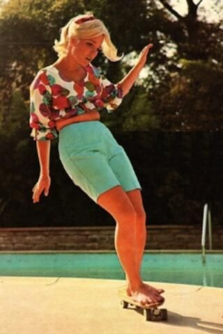 OMG Facts (@OMG Facts) tweeted at 11:31 PM on Sun, May 18, 2014: Patti McGee (First woman professional skateboarder)