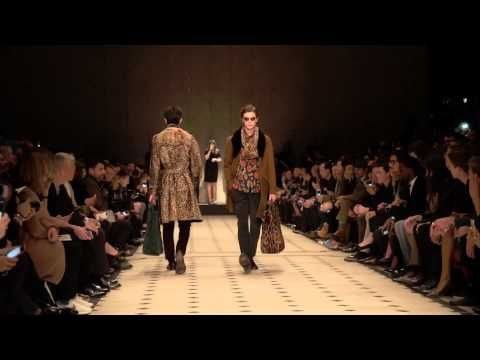 Burberry Prorsum Menswear Autumn/Winter 2015 - The Full Runway Show - YouTube