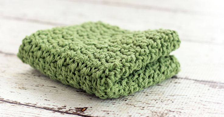 Need an easy crochet dishcloth pattern? This is a great pattern to add to your list of crochet dishcloth patterns.
