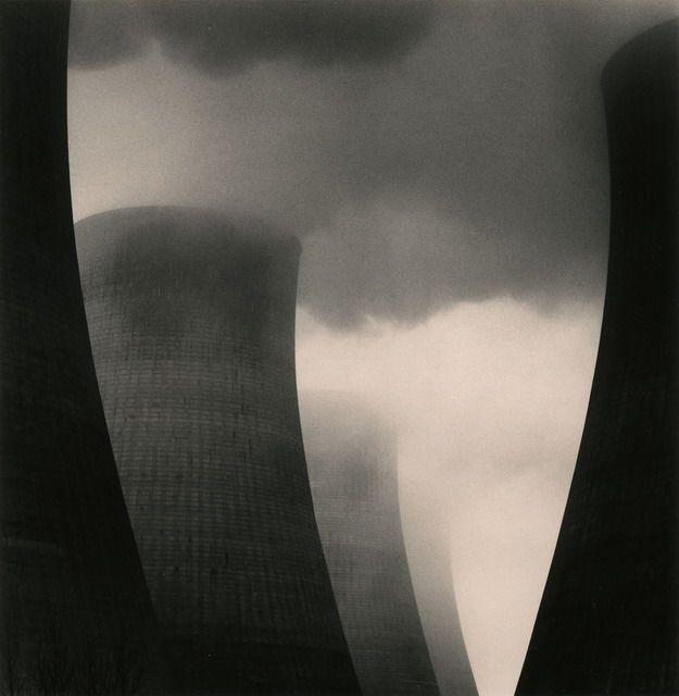 Michael Kenna  ratcliffe power station, study 40, nottinghamshire, england, 2003