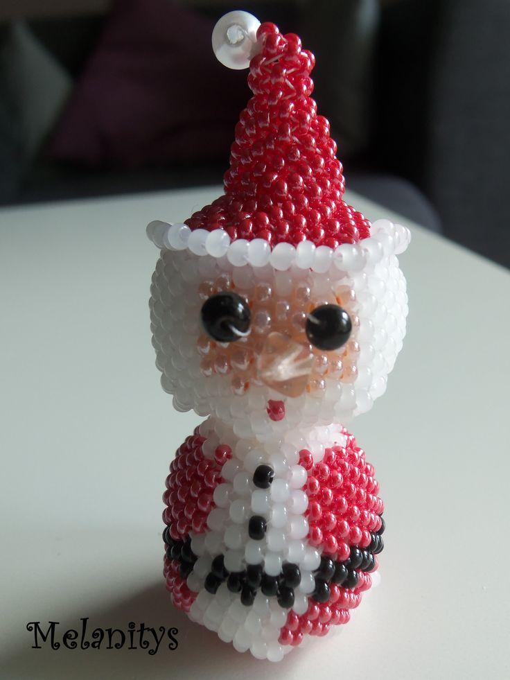 Père Noël, création personnelle Melanitys