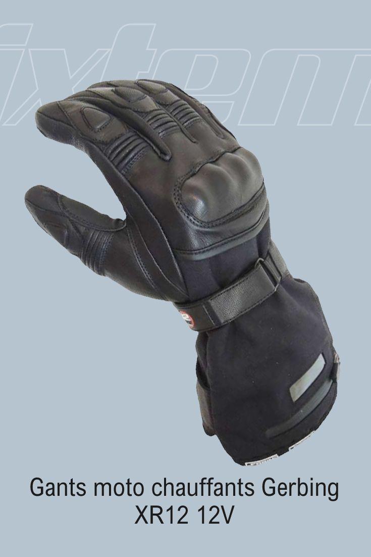 #gant #moto #gerbing Cette année les gants moto chauffants Gerbing XR12 font peau neuve:  - Soufflets d'aisance sur les doigts pour plus de liberté dans les mouvements - Coque plus confortable - Grand soufflet d'aisance sur le pouce - Bord cote en néoprène - et surtout...