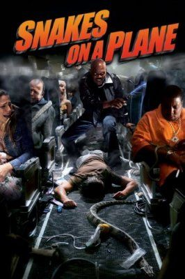 Snakes on a Plane, a weird and funny film.