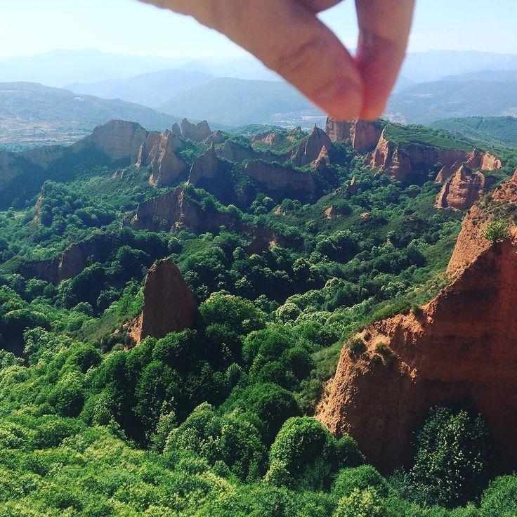 Me llevo un souvenir de las #médulas #León