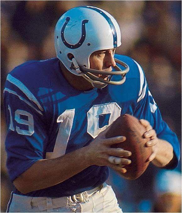 Johnny Unitas-Baltimore Colts-1956-1972..............