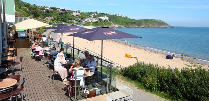 Langlands Brasserie is perched overlooking Langland Bay and offers a wide choice of restaurant and cafe food. http://www.langlandsbrasserie.co.uk/