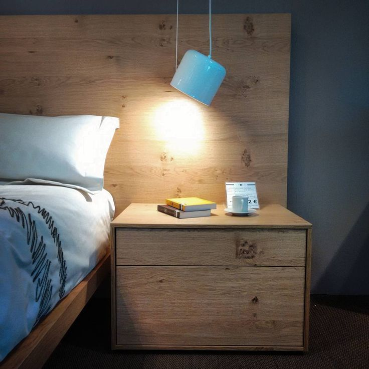 Good night! Bona nit! Buenas noches!  #night #bed #bedroom #new #oak #roure #roble #madera #fusta #furnituredesign #furniture #home #homestyle #light #drawer #Granollers #barcelona #catalunya #instagood #instalike