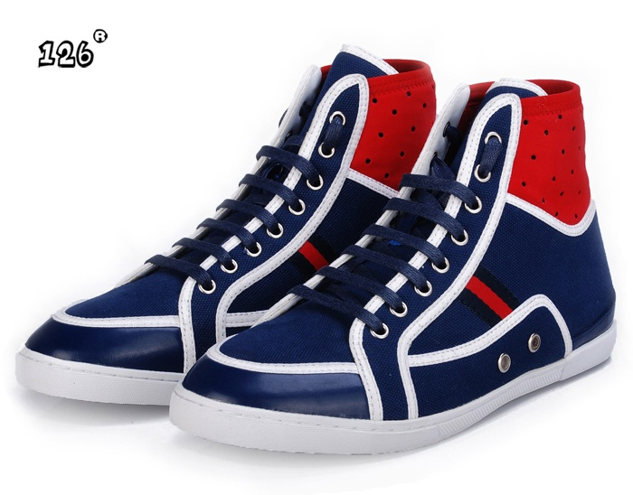 gucci shoes for men blue. gucci high top sneakers beige gg fabric monogram green stripe $159 shoes for men blue r