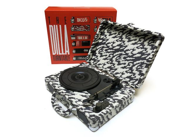 You can now own a portable J Dilla turnable