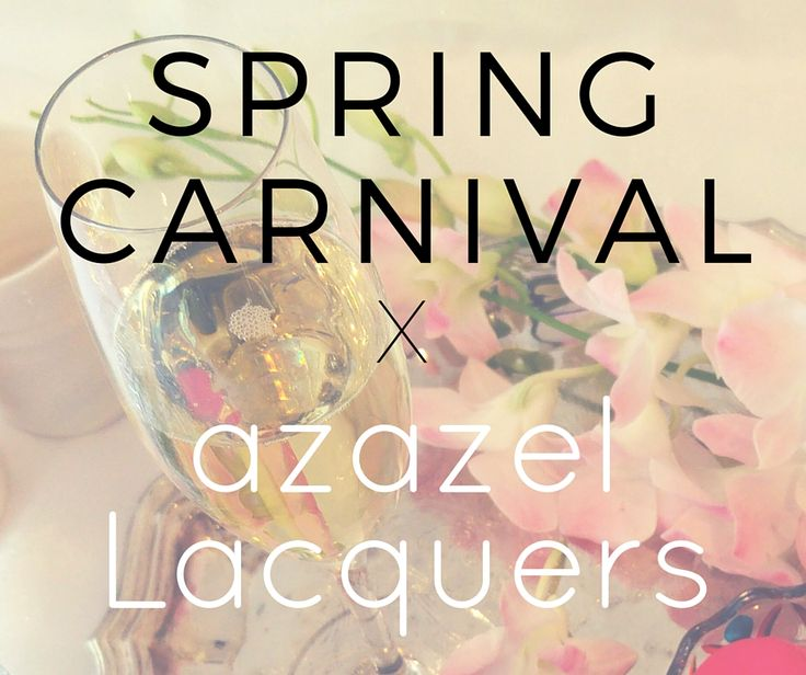 SPRING CARNIVAL Limited Edition by azazel Lacquers - glitter nail polish designs inspired by jockey silks of race horses known to Melbourne's Spring Racing Carnival.