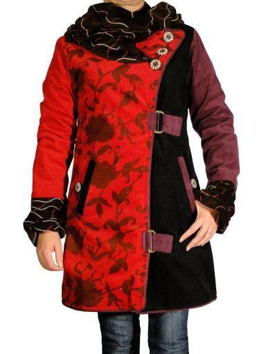 Manteau de notre collection ethnique chic de marque Swamee