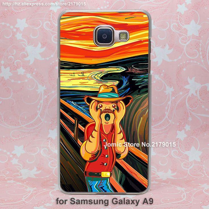 Крик для смешной дизайн человек прозрачный ясно твердый переплет Чехол для Samsung Galaxy a3 a5 a7 a8 a9