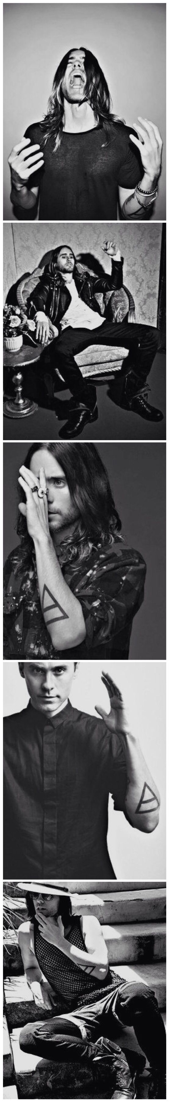 "Jared Leto  ""I'm not saying I'm sorry / One day, maybe We'll meet again ..."""