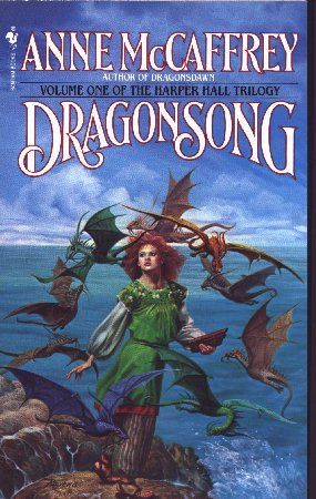 Dragonsong by Anne McCaffrey  I read this as a teenager. good book reminds me of The Hunger Games