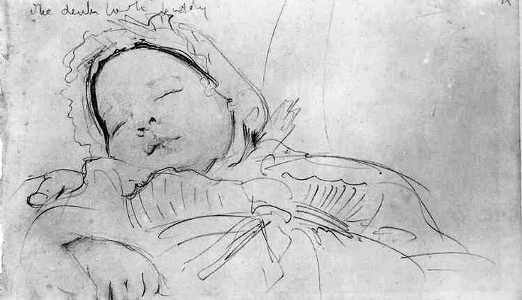 john singer sargent... look what a few scribbles of a pencil can (re) create