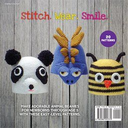Amigurumi Animal Hats: 20 Crocheted Animal Hat Patterns for Babies and Children: Linda Wright: 9780980092370: Amazon.com: Books