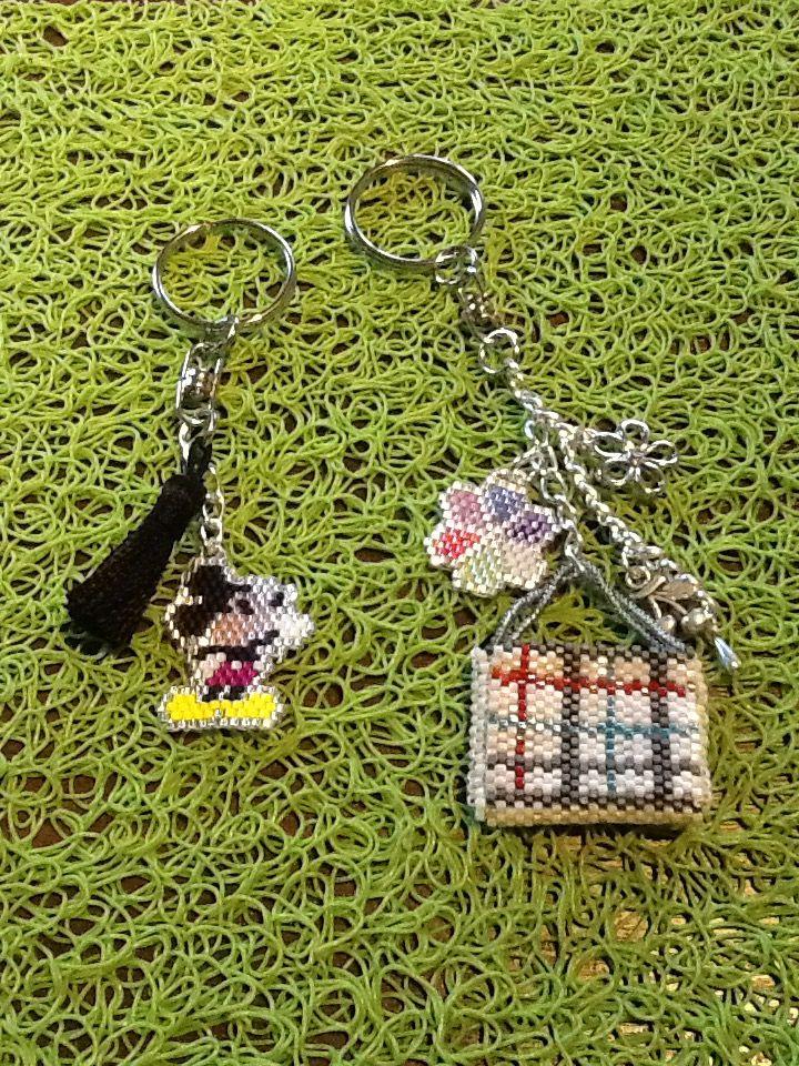 Bijoux pour le sac ou les clés