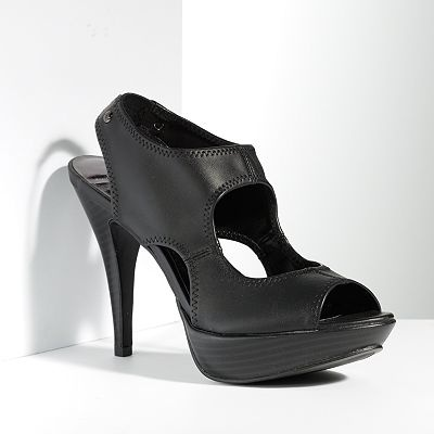 What a versatile heel! Dress it up or down! Simply Vera Vera Wang Peep-Toe High Heels: Peep To, Dresses