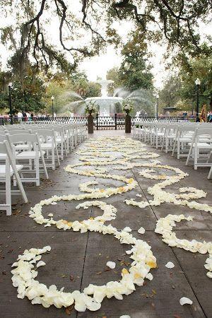 Savannah Wedding Ceremony Forysthe Park Savannah GA More