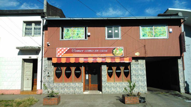 Letrero y cenefa para restaurante casero
