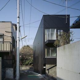 代沢の住宅 / 11坪の店舗付住宅の部屋 外観