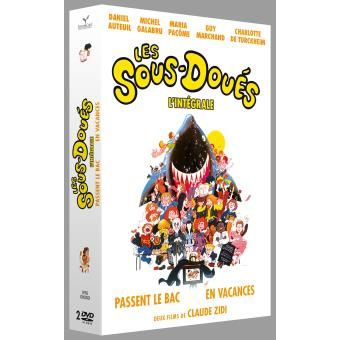 Les Sous-doués passent le bac, Les sous-doués en vacances Coffret DVD
