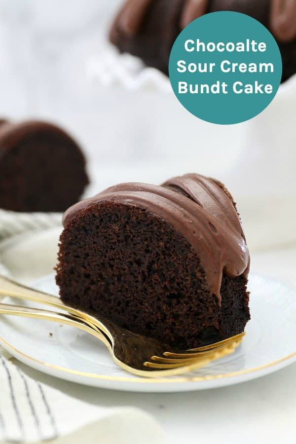 Mouthwatering Chocolate Sour Cream Bundt Cake Recipe Sour Cream Cake Sour Cream Chocolate Cake Homemade Chocolate Cake