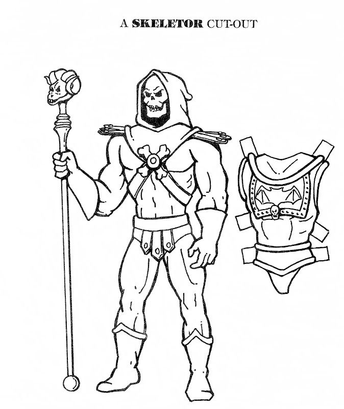 bobbyjack coloring pages | skeletor.jpg 674×800 pixels | Stuff For The Kids | Pinterest