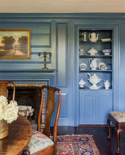 Colonial Farmhouse Dining Room