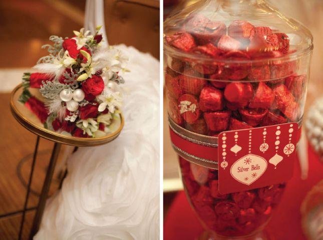 Vintage Christmas Wedding Inspiration   bellethemagazine.com