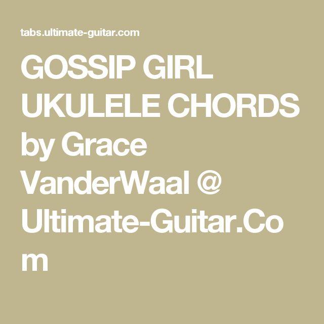 the 25  best gossip girl grace vanderwaal ideas on
