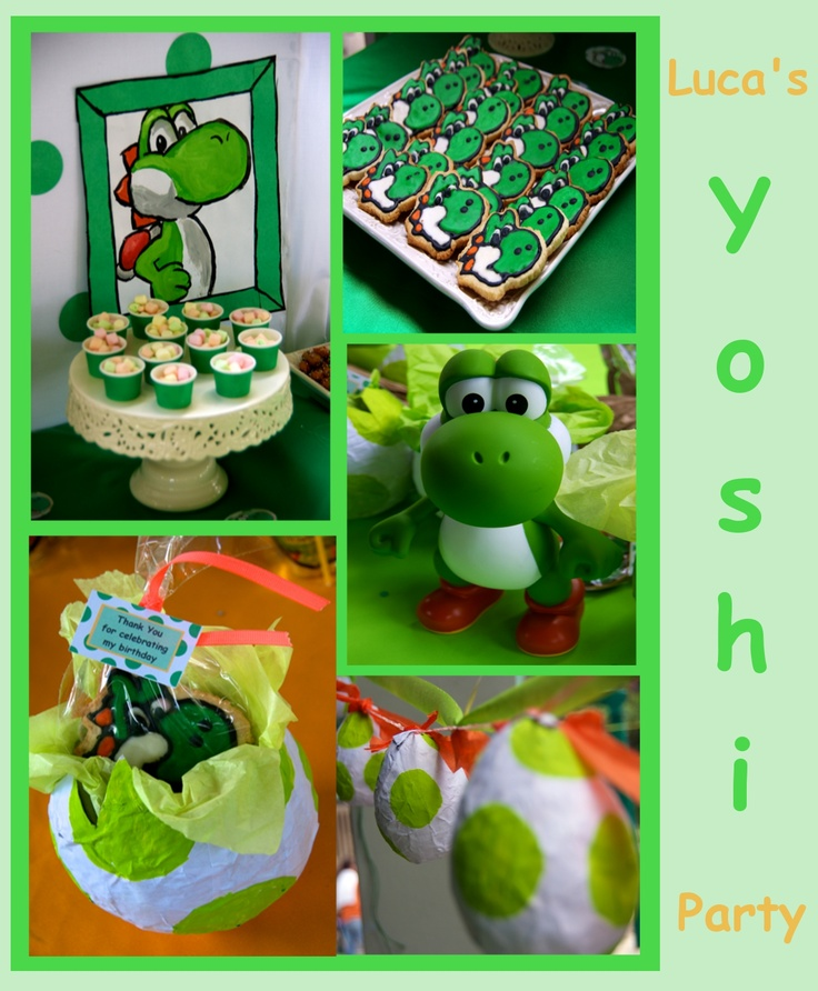 17 Best images about Yoshi Birthday Party Ideas on ...