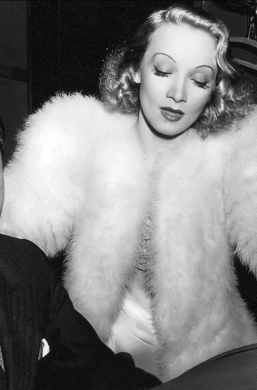 The beautiful and classy Marlene Dietrich