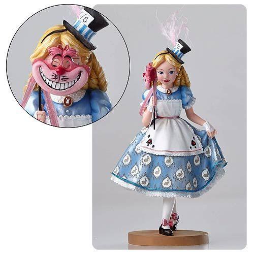 Disney Showcase Alice in Wonderland Masquerade Statue - Enesco - Alice in Wonderland - Statues at Entertainment Earth
