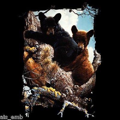 TSHIRT   Bear Cubs    T Shirt  Item no. 227b by AlwaysInStitchesCo, $13.00