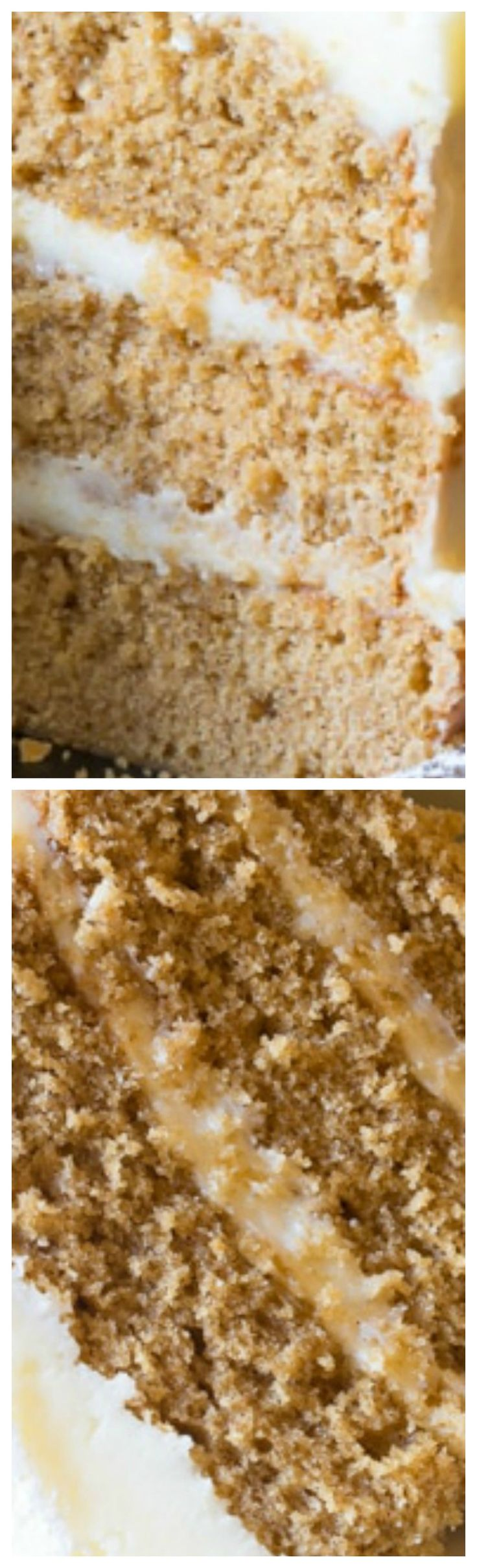 Cinnamon Dolce Latte Cake with Mascarpone Frosting ~ Decadent and ultra moist