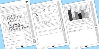 Year 2 Maths Assessment Statistics - assessments, math, assess